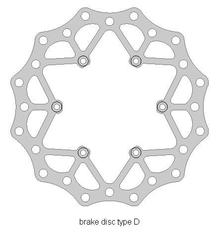 Bremsscheibe hinten Beta RR 2013-