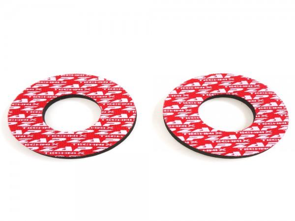 Neopren Donuts Rot 5mm - 2 Stück