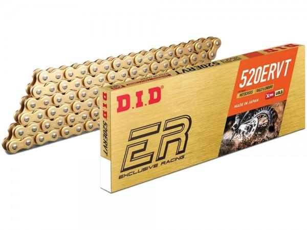 DID 520 ERVT Kette (118G) gold/black, Zugfestigkeit 37500 KN